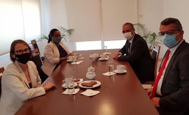 Erhürman, ABD Büyükelçisi ile görüştü