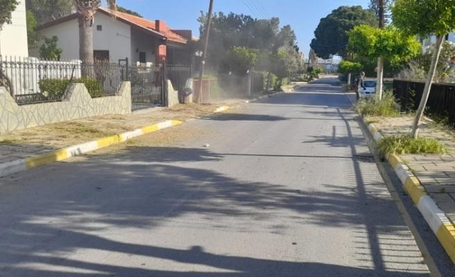 Girne'de temizlik çalışmaları