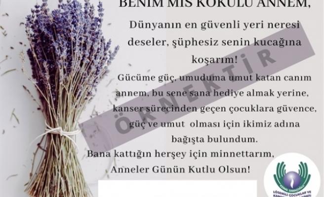 """Kemal Saraçoğlu Vakfı'dan Anneler Günü için özel """"Mis kokulu anneler"""" kartı"""