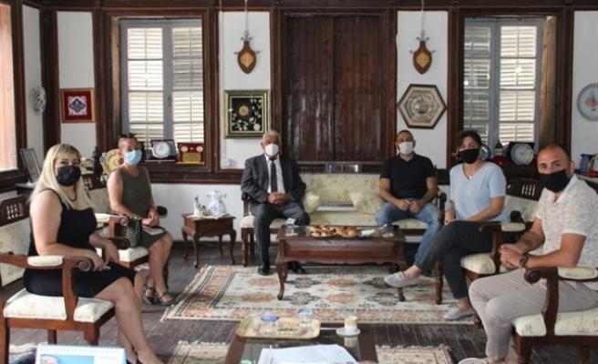 Özçınar, Kıbrıs Türk Seyahat Acenteleri İnisiyatifiyle görüştü