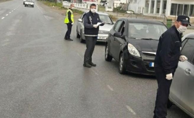 Sokağa çıkma yasağını ihlal eden 12 kişiye yasal işlem