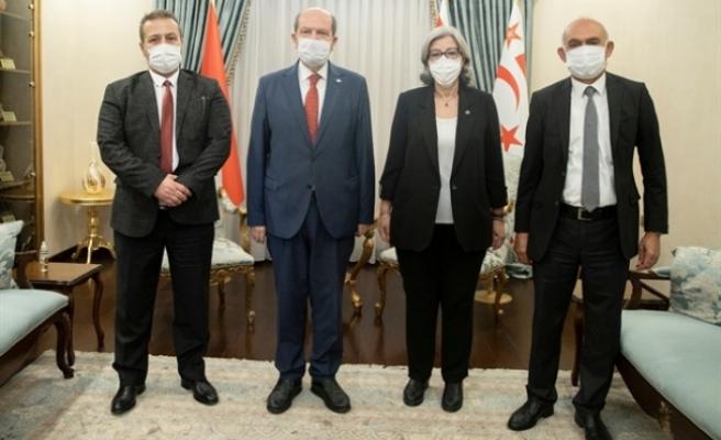 Tatar, Şefik, Altıncık ve Türker ile görüştü