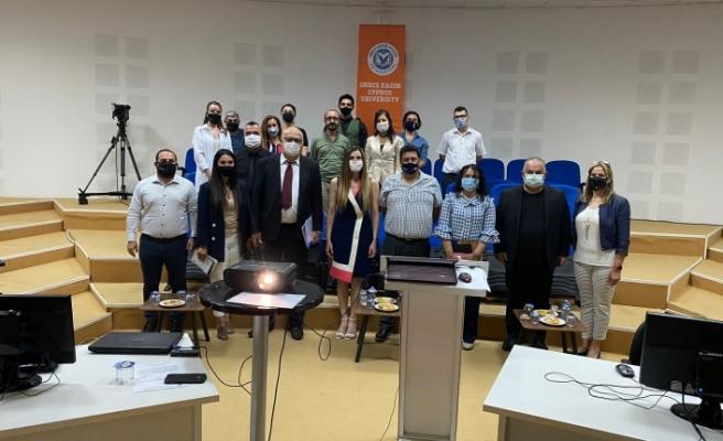 YÖDAK,  Onbeş Kasım Kıbrıs Üniversitesi'ni denetleyerek üniversitede incelemelerde bulundu