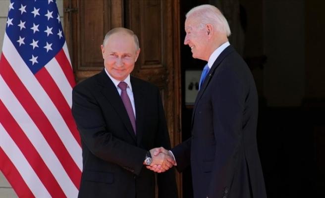 Biden-Putin zirvesi Cenevre'de başladı