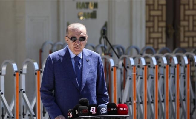 """Erdoğan: """"Türkiye NATO ülkeleri arasında ilk 5'te yerini alan güçlü bir ülke"""""""