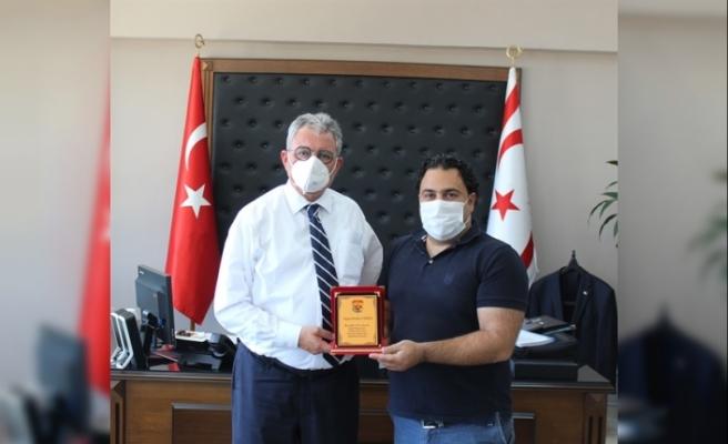 İçişleri Bakanı Evren, Yalova Spor Kulübü Yönetim Kurulunu kabul etti