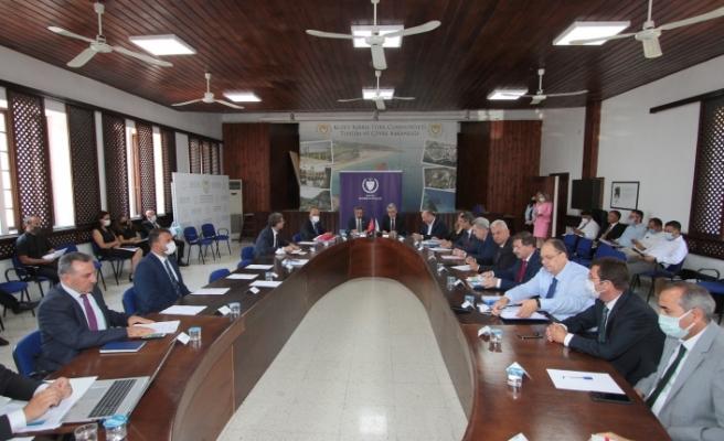 """""""İktisadi ve mali işbirliği anlaşması birinci gözden geçirme toplantısı"""" yapıldı"""