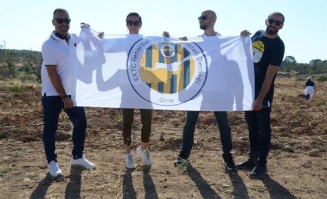 KKTC Fenerbahçeli İş İnsanları Derneğinden fidan dikimi