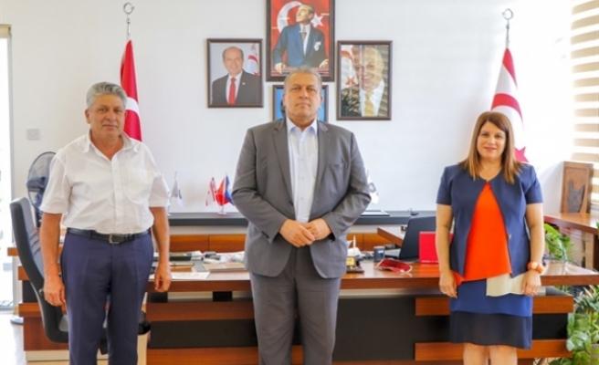 Mesleki Teknik Öğretim Dairesi Müdürü Hocanın Arter'i ziyaret etti