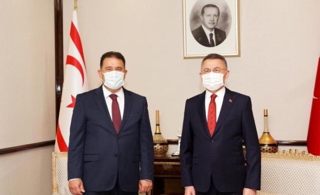 Saner, Ankara'da Oktay ile görüştü