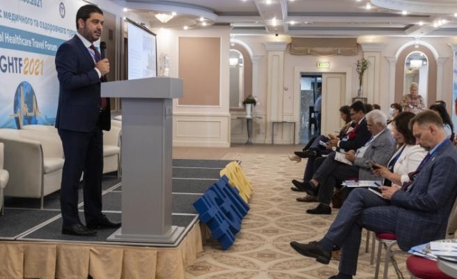 """Savaşan, Kiev'de konuştu: """"Sağlıklı ve güvenli bir turizm destinasyonuyuz"""""""