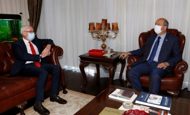 Tatar, Almanya Büyükelçisi Franz Josef Kremp onuruna veda yemeği verdi