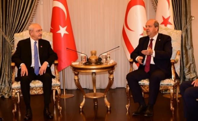 Tatar, Kılıçdaroğlu'nu kabul etti
