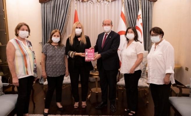 Tatar, Limasollular Derneği'ni kabul etti