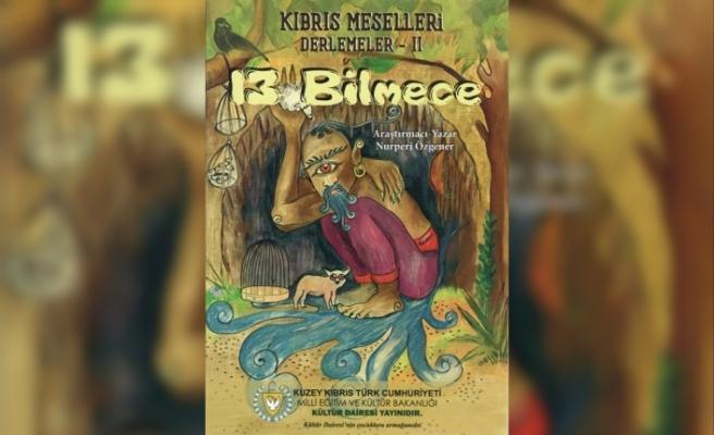 """""""13 Bilmece"""" adlı çocuk masalı kitabı yayınlandı"""