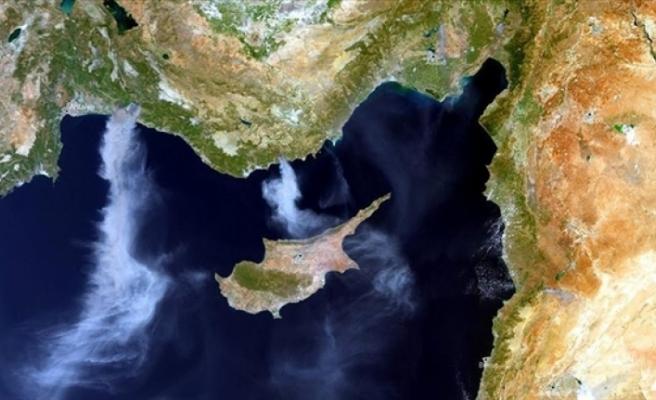 AB uyudusundan yangının dumanları görüntülendi