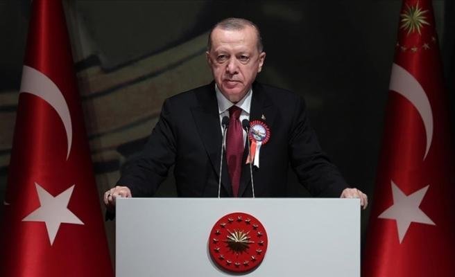 """Erdoğan: """"Kuzey Kıbrıs'a, müjdesini orada parlamentoda vermek istiyorum, güzel bir adımımız var, ön çalışmalarını bitirdik"""""""