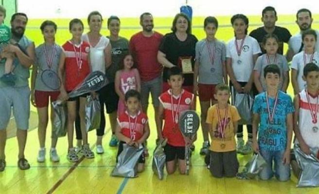 Lefkoşa Badminton Kulübü'nden Basketbol Federasyonu yönetimine teşekkür