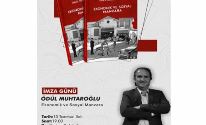 Ödül Muhtaroğlu, kitabını tanıtacak