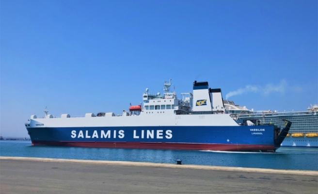 Selanik-Limasol arasında arabalı vapur seferleri