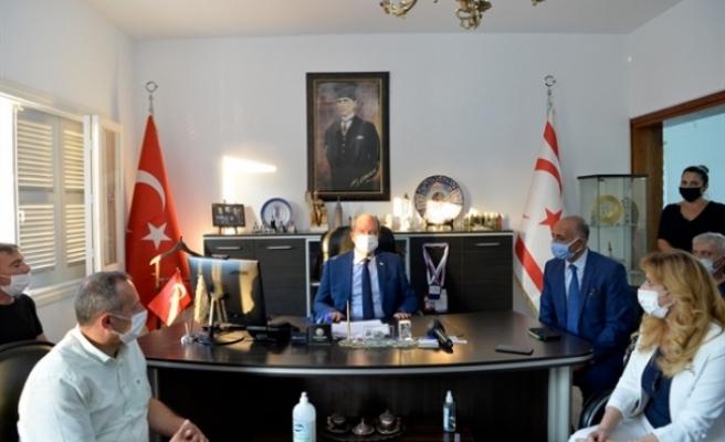 Tatar'dan Esnaf Kredi Kooperatifi'ne ziyaret