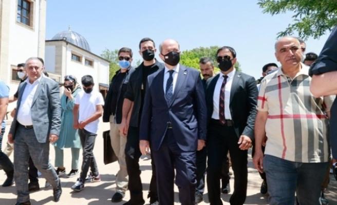 Tatar, Diyarbakır'da Peygamberler ve Krallar Şehri'ni ziyaret etti