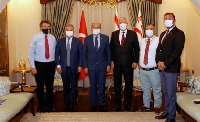Tatar, YÖDAK ve YÖKAK Başkanlarını kabul etti
