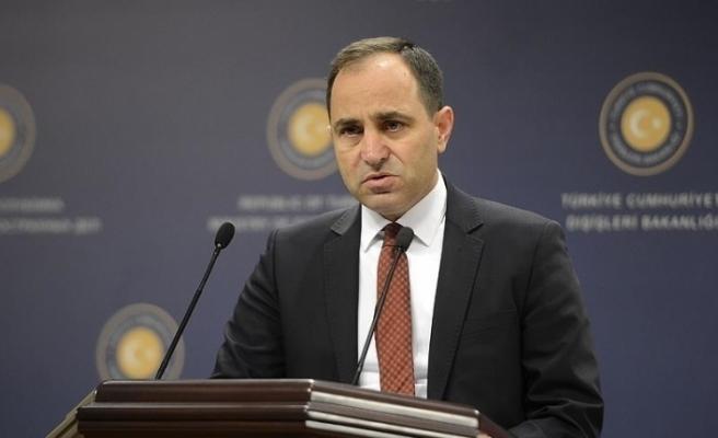 Türkiye Dışişleri Bakanlığı Sözcüsü Bilgiç, AB'yi Kıbrıs konusunda gerçeklerden kopuk olmakla eleştirdi