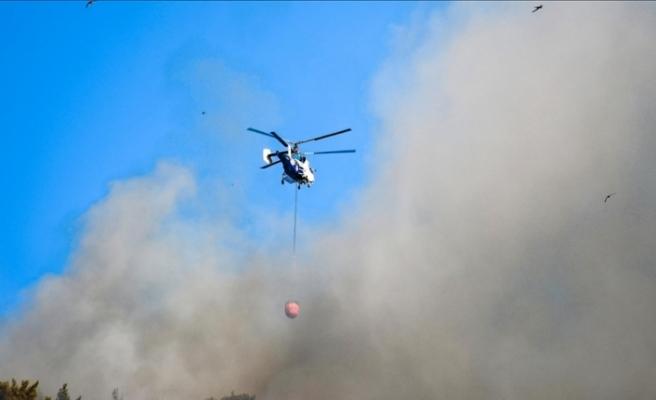 Türkiye genelindeki 98 orman yangınının 88'i kontrol altına alındı