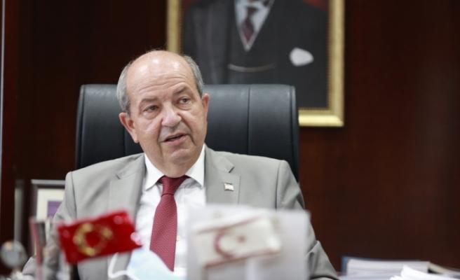 "Cumhurbaşkanı Tatar'dan halka ""aşı olun"" çağrısı"