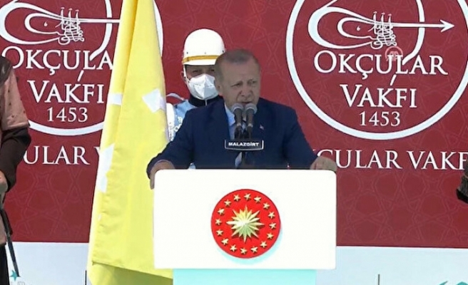 """Erdoğan: """"Türkiye yeni bir şahlanış içinde"""""""