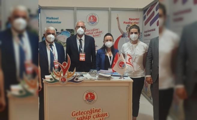 """Girne Belediyesi, Ankara'da """"Genç Dostu Şehirler Kongre ve Sergisi""""nde stant açtı"""