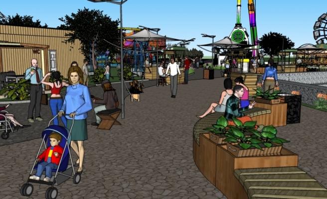 İskele'ye sosyal aktivite, eğlence ve rekreasyon merkezi inşa edilecek