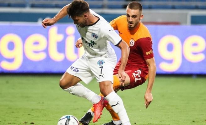 Kasımpaşa 2-0'dan döndü Galatasaray'dan 1 puanı aldı