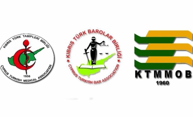 KTTB, KTBB ve KTMMOB'den ortak mücadele kararı