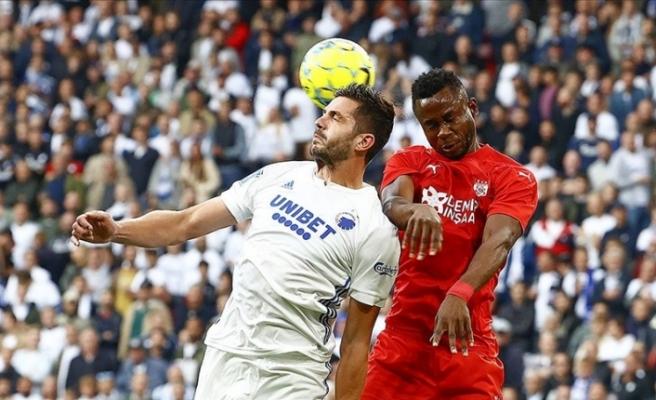 Sivasspor, farklı mağlup oldu