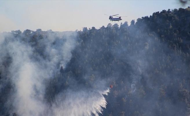 Türkiye'nin yangınlar ile mücadelesi sürüyor