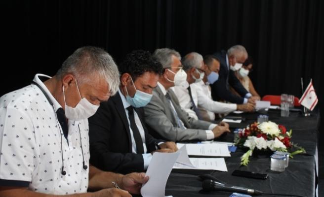 5 belediye ile protokol imzalandı
