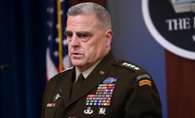 """ABD Genelkurmay Başkanı: """"Işid-K karşısında Taliban ile işbirliği mümkün"""""""