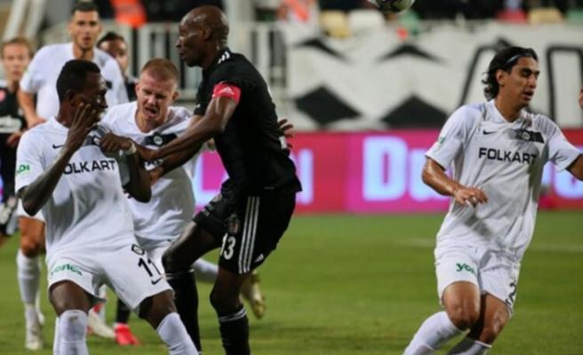 Altay - Beşiktaş maçında 3 gol