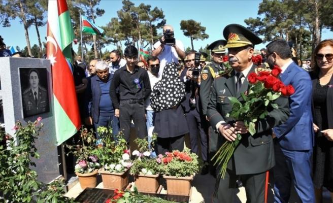 Azerbaycan'da 2. Karabağ Savaşı'nın 1. yılında şehitler anıldı