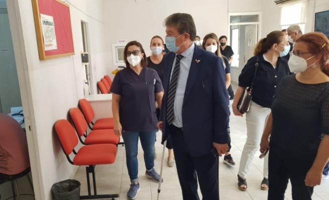 Bakan Üstel, Akdoğan Sağlık Merkezi, Vadili Sağlık Odası, ve Paşaköy Sağlık Odası'nı ziyaret etti