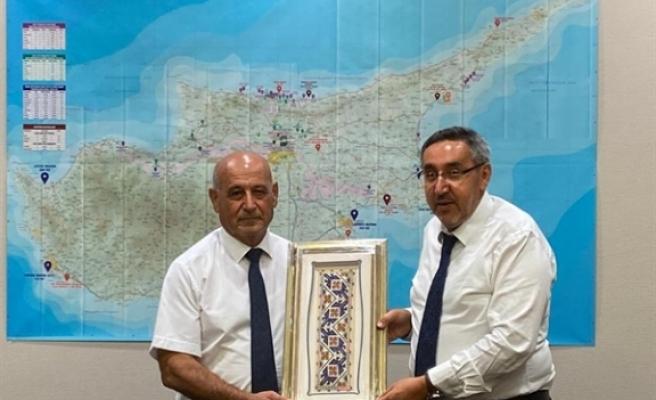 Benli, Ankara'da Kıbrıs İşleri Koordinatörü ile görüştü