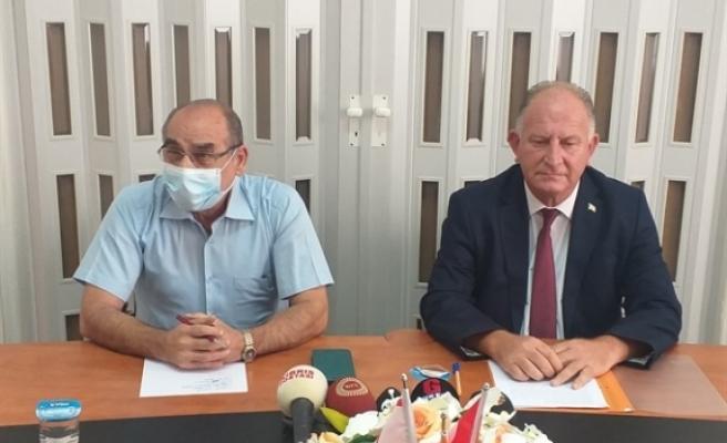 """Çaluda: """"Kıbrıs Türk halkı bilsin ki Aytaç Çaluda'nın üzerine atılmak istenen bu kara leke artık silinmiştir... Alnımız ak, başımız diktir"""""""