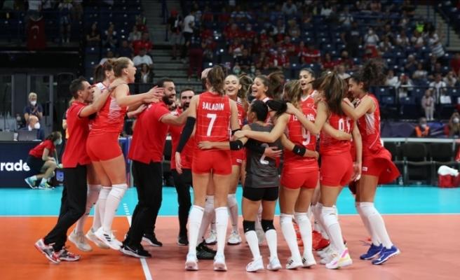 """""""Filenin Sultanları"""" Avrupa Şampiyonası'nda 5. kez kürsü gördü"""