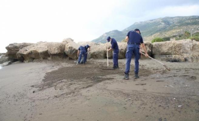 Hatay'da sahil ve denizdeki kirlilik üzerine inceleme başlatıldı