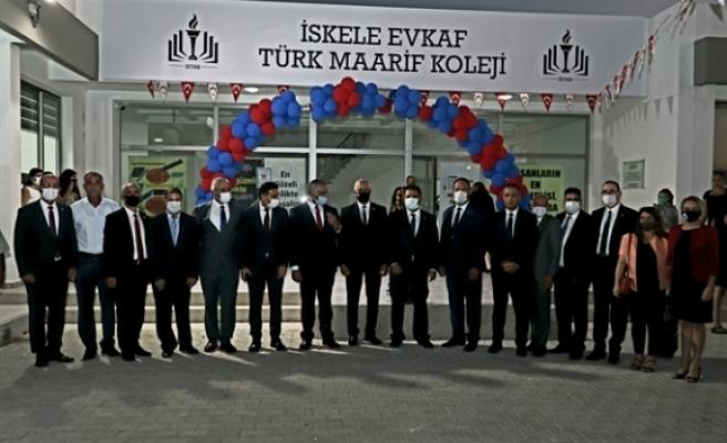 İskele Evkaf Türk Maarif Koleji'nin açılış töreni yapıldı