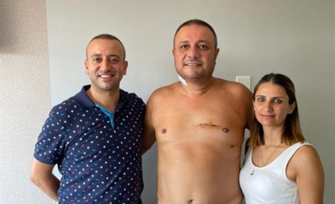 Kıbrıs'ta ilk defa kapalı kalp ameliyatı yöntemiyle  koroner by-pass operasyonu