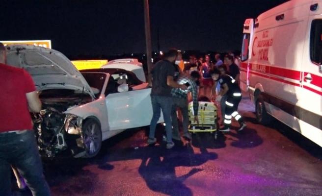 Mutluyaka - Tuzla yolu'nda feci kaza