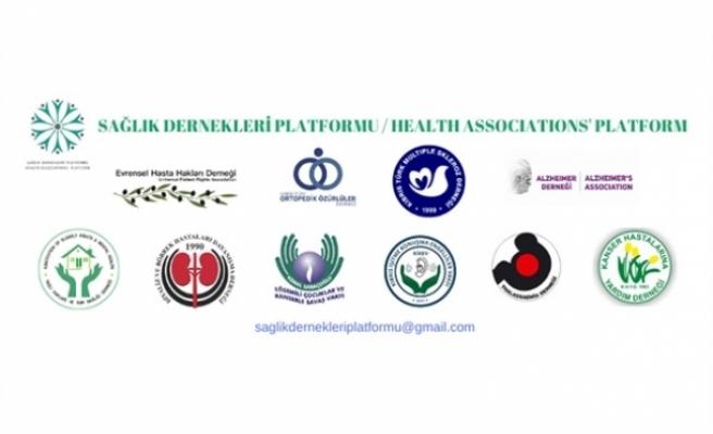 Sağlık Dernekleri Platformu eylem yapacak